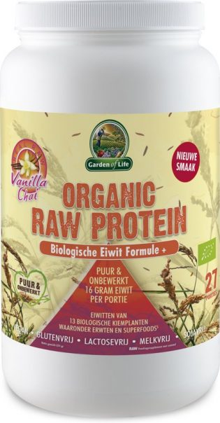 Garden of Life raw proteïne vanille – chai