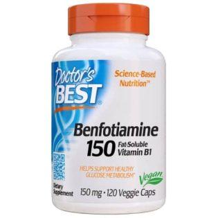 Benfotiamine 150mg 120 veg capsules