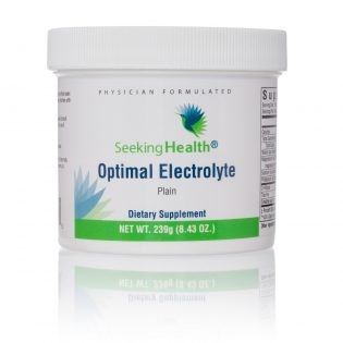 Seeking health Optimal electrolyten poeder