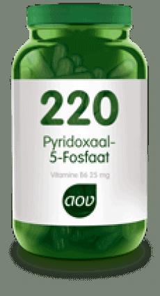 Pyridoxaal-5-fosfaat (220)