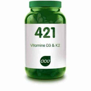 Vitamine D3 & K2 (421)